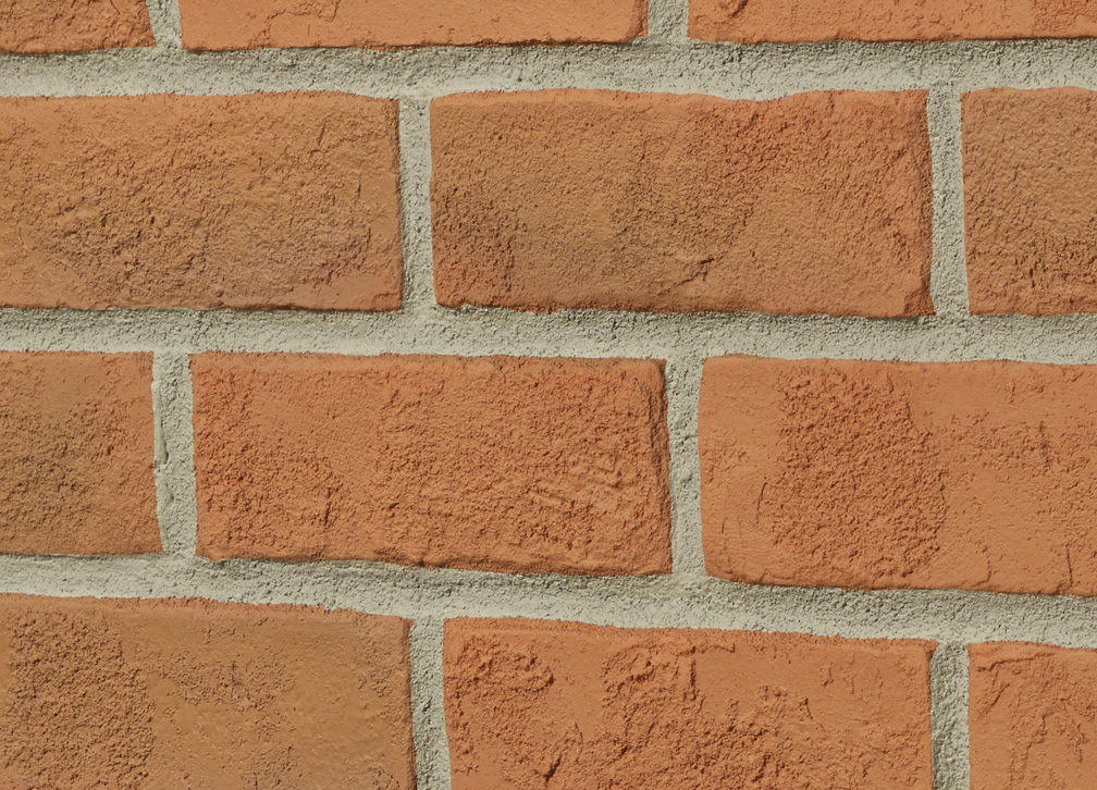 Rustic Brick Standard - Burnt Orange