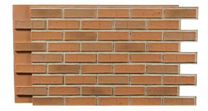 Brick Contemporary Burnt Orange Interlock 1